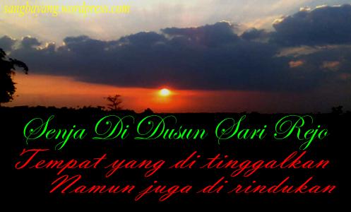 Senja Di Dusun Sari Rejo